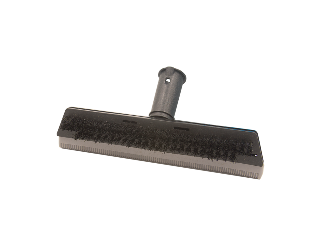 Squeegee with Brush